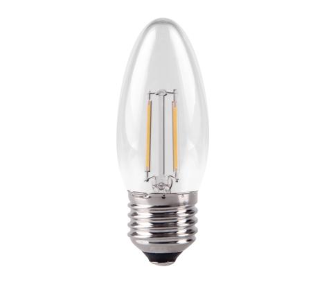 Clear Candle LED Filament