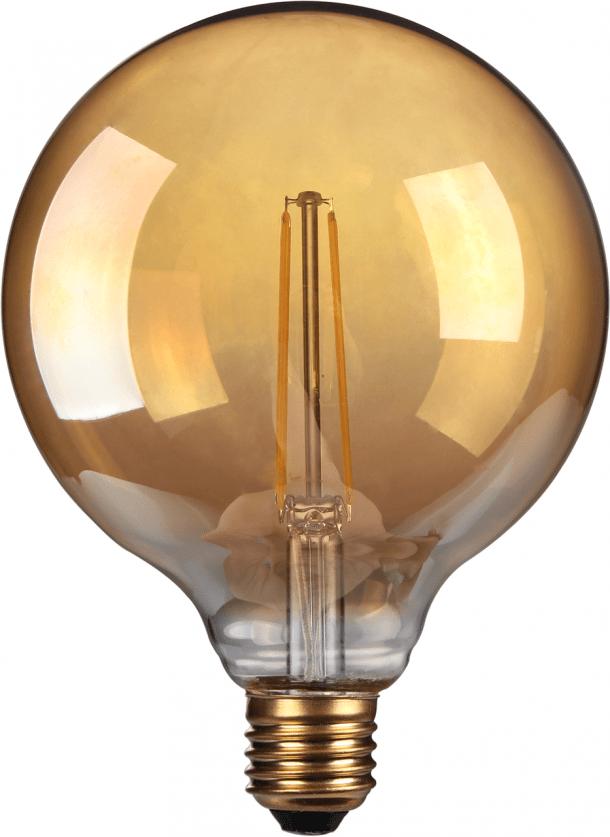 Antique Globe 100 LED Filament Bulb