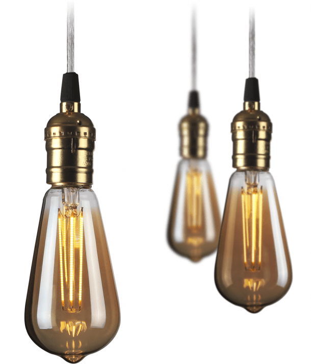 Antique ST 62 LED Filament Bulbs