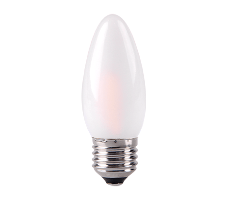 Frosted Candle LED Filament Bulb