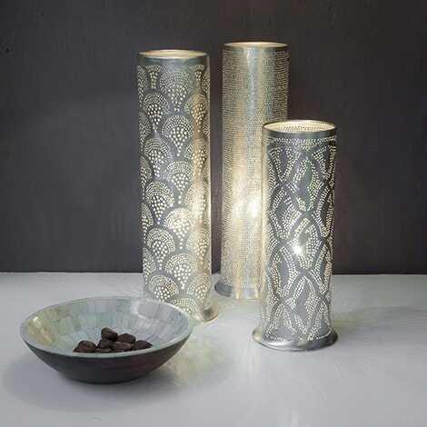 Tally Filisky Lamp Silver