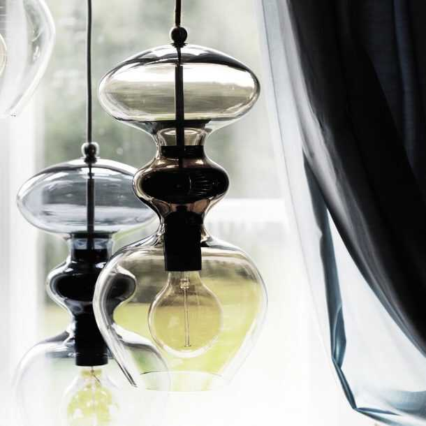 Close up of Futura Pendant Lamps
