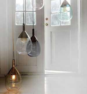 Lute Pendant Lamps in Situ