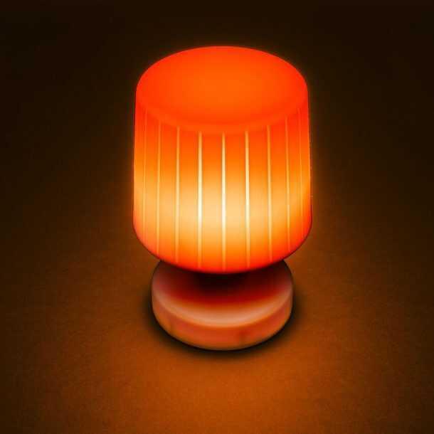 Moonlight Table Lamp Orange