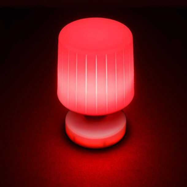 Moonlight Table Lamp Red