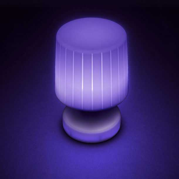 Moonlight Table Lamp Purple