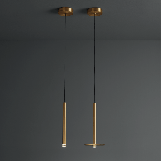Candle Pendant Gold