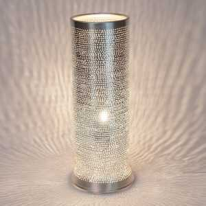 Tally Filisky Lamp Silver