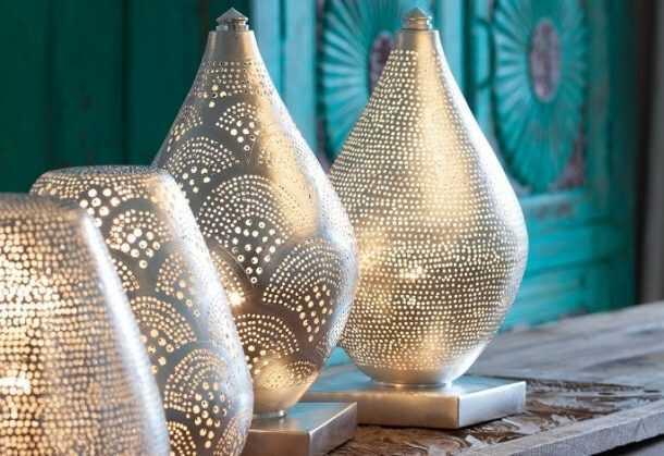 Elegance Filisky Lamp Silver