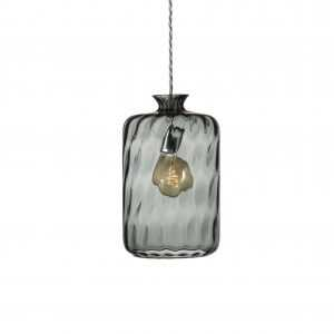 Pillar Pendant Smokey Grey