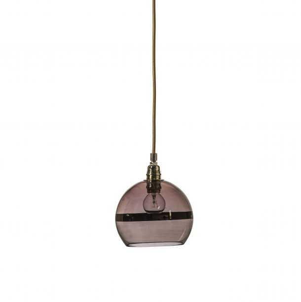 Rowan Pendant Copper Stripe Obsidian