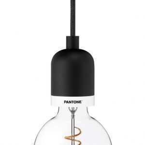 PANTONE Deneb Drop cap pendant Black Beauty