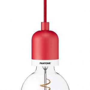 PANTONE Deneb Drop Cap Pendant Cardinal