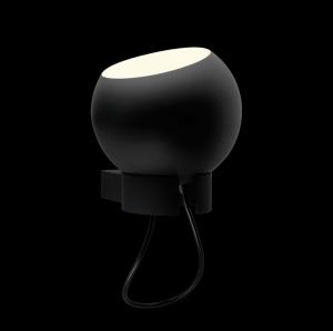 Sphere Wall Light Black