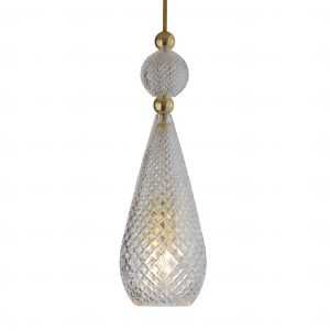 Smykke Pendant Crystal Gold