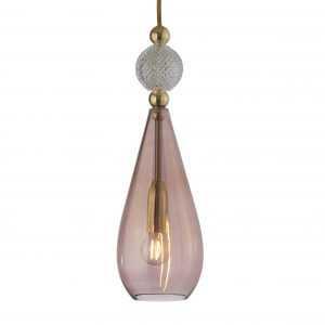 Smykke Pendant Crystal Ball Obsidian Gold