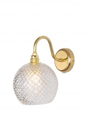 Rowan Wall Lamp Small Check Gold