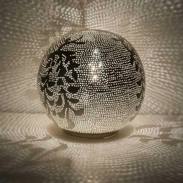 Ball Blossom Lamp Silver