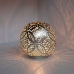 Ball Circles Lamp Silver