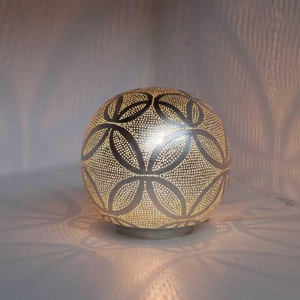 Ball Circles Lamp Silver