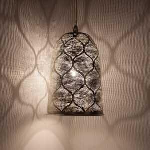 Dome Moorish Pendant Silver