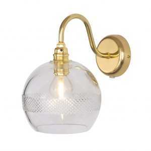 Rowan Wall Lamp Mini Stripe Gold