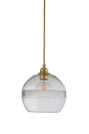 Rowan Pendant Mini Stripe Gold