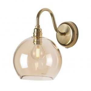 Rowan Wall Light Golden Smoke