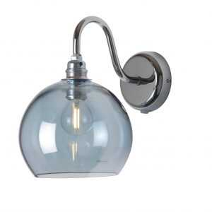 Rowan Wall Lamp Topaz Blue