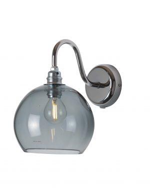 Rowan Wall Lamp Smokey Grey