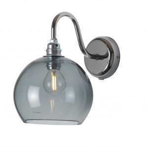 Rowan Wall Lamp Smokey Grey