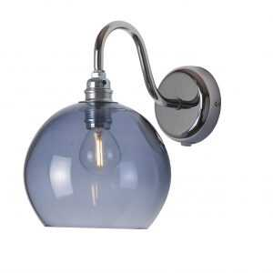 Rowan Wall Lamp Deep Blue