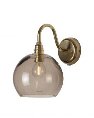 Rowan Wall Lamp Chestnut Brown