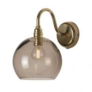 Rowan Wall Lamp Chestnut Brown