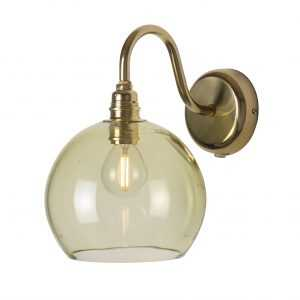 Rowan Wall Lamp Olive