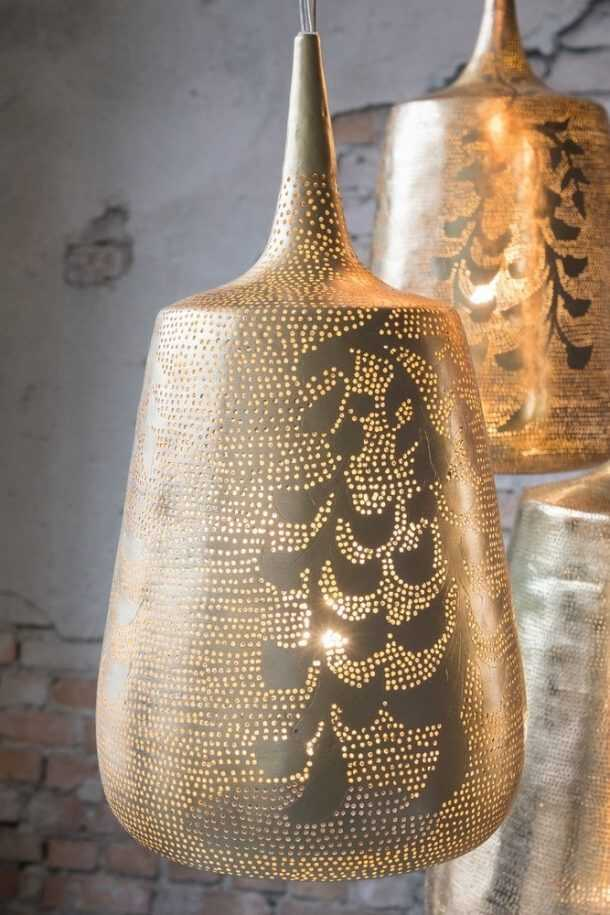 Trophy Blossom Pendant Gold