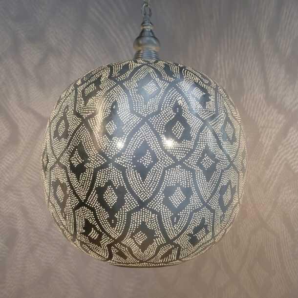 Ball Filigrain Pendant Silver