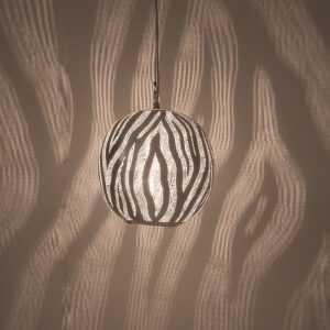 Ball Dune Pendant Silver