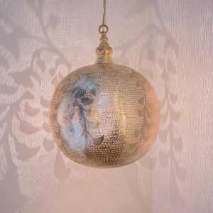 Ball Blossom Pendant Gold