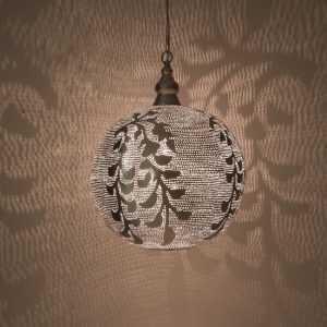 Ball Blossom Pendant Silver