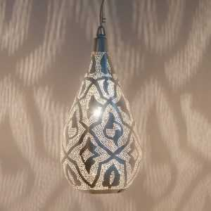 Elegance Filigrain Pendant Silver