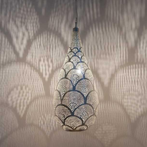 Elegance Fan Pendant Silver