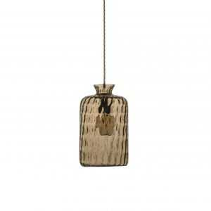 Pillar Pendant Golden Smoke