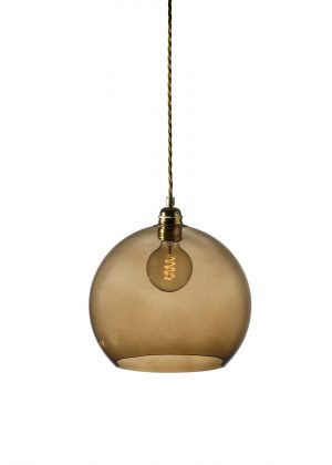 Rowan Pendant Chestnut Brown