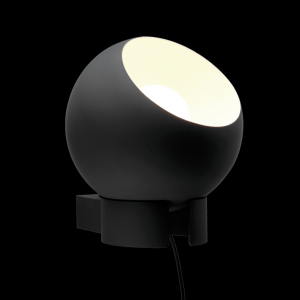 Sphere Plug in Wall Light Black - TossB