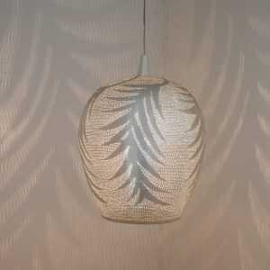 Tropic Leaf Pendant Silver