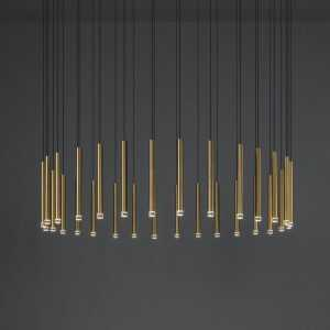 30 Candle Suspension Chandelier