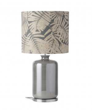 Pillar Table Lamp Mother of Pearl and Shade