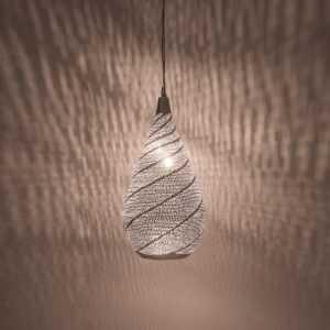 Elegance Swirl Pendant Silver