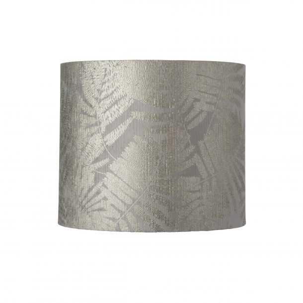Futura Table Lamp Smokey Grey and Shade